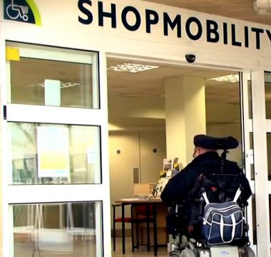 Shopmobility hire a scooter